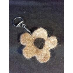 porte-clé fleur